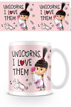 Despicable Me 3 Mug Unicorns I Love Them