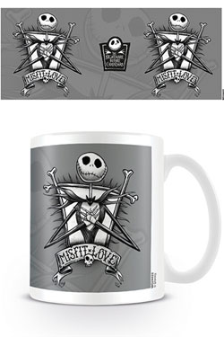 Nightmare Before Christmas Mug Misfit Love