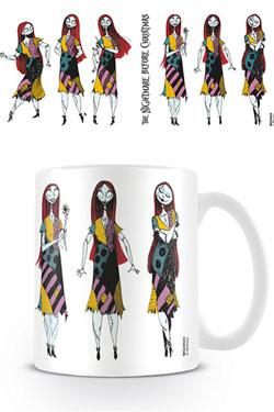 Nightmare Before Christmas Mug Sally Poses