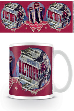 Wonder Woman Mug Upward To Victory