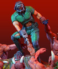 Doom Diorama Knee Deep In The Dead 32 cm