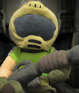 Doom Plush Figure Space Marine