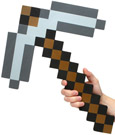 Minecraft Foam Replica 1/1 Pickaxe 45 cm