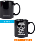 Watch Dogs Heat Change Mug Skull