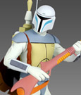 Star Wars Animated Maquette Boba Fett Holiday Special