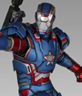 Iron Man 3 Statue 1/4 Iron Patriot 49 cm