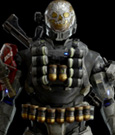 Halo Reach Action Figure 1/6 Spartan-III A239 Emile 34 cm