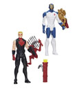 Avengers Titan Hero Light Up Battle Action Figures 30 cm 2015 Wave 1 Assortment (6)