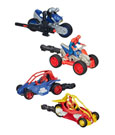 Ultimate Spider-Man Blast n Go Vehicles with Figures 2015 Wave 2 Assortment (6)