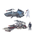Star Wars Episode VII Class II Vehicles with Figures 2015 Wave 1 Assortment (3)