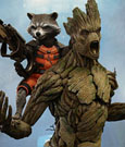 Guardians of the Galaxy Movie Masterpiece Action Figure 2-Pack 1/6 Rocket & Groot