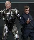 RoboCop Movie Masterpiece Action Figure 2-Pack 1/6 RoboCop Battle Damaged & Alex Murphy 30 cm