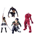 Attack on Titan Mini Figures Capsule Toys Previews Exclusive Display (30)