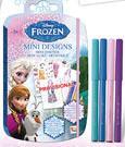 Frozen Sketchbook with Pencils