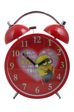Minions Alarm Clock Valentines