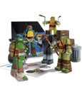 Teenage Mutant Ninja Turtles Papercraft Figure Set Team Ninja Turtles Pack