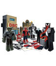 Ultimate Spider-Man Papercraft Figure Set Battle at Oscorp Deluxe Pack