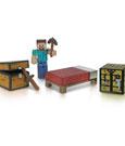 Minecraft Survival Pack Action Figure Core Player Steve 8 cm