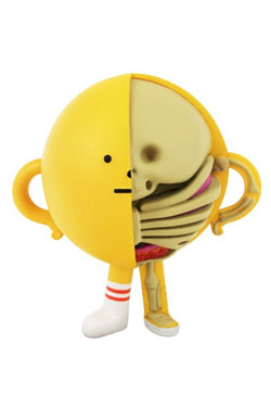 Sticky Monster Lab XXRAY Figure Yellowmon 10 cm