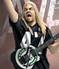 Slayer Rock Iconz Statue Jeff Hanneman 23 cm