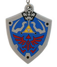 The Legend of Zelda Rubber Keychain Hyrulian Crest 7 cm