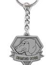 Metal Gear Solid V Metal Key Ring Diamond Dogs