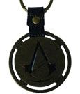 Assassin�s Creed Unity Metal Key Ring Logo & PU Snap