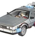 Back to the Future Diecast Model 1/18 Delorean Hotwheels Elite Edition