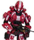 Halo 4 Action Figure Spartan Soldier 14 cm Series 3