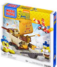 SpongeBob SquarePants Mega Bloks Construction Set Burger Mobile