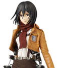 Attack on Titan RAH Action Figure 1/6 Mikasa Ackerman 30 cm