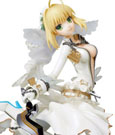 Fate/Extra PPP Statue 1/8 Saber Bride 22 cm