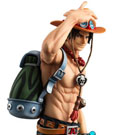 One Piece Excellent Model P.O.P PVC Statue NEO-DX Portgas D. Ace 10th Limited Ver. 23 cm
