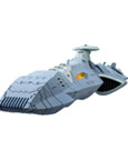 Space Battleship Yamato 2199 Statue Cosmofleet SP Domellers III 17 cm