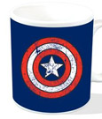 Marvel Mug Captain America Shield Logo