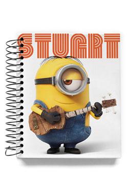 Minions Mini Notebook Stuart