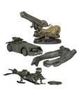 Alien Diecast Vehicles Cinemachines Series 1 Assortment (12)