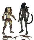 Alien vs. Predator Action Figure 2-Pack Renegade Predator vs. Big Chap Alien 18 cm