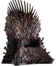 Game of Thrones Statue Bronze Iron Throne 36 cm