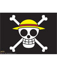 One Piece Wallscroll The Straw Hat Pirates Flag 84 x 112 cm