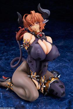 Comic Unreal Vol. 38 Cover Girl Statue 1/6 Bakunyu Ushimusume Melfi Cowgirl Creator's Choice 15 cm