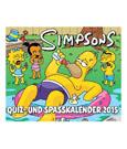Simpsons Calendar 2015 Quiz- und Spasskalender *German Version