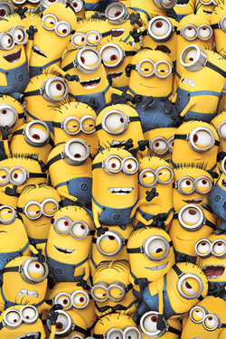 Despicable Me 2 Poster Pack Many Minions 40 x 50 cm (5)