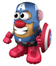 Marvel Comics Mr. Potato Head Figure Captain America 15 cm