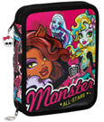 Monster High 55-Piece Pencil Case with content All Stars