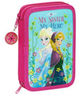 Frozen 34-Piece Pencil Case with content Nordic Summer 21 cm