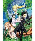Sword Art Online Vol. 6 Wallscroll Kirito, Asuna, Kirigaya & Yui 69 x 96 cm