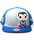 Superman Snap Back Baseball Cap Graphic Art