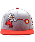 Nintendo Snap Back Baseball Cap Mario Attack