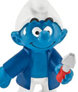 The Smurfs Figure Caretaker Smurf 6 cm